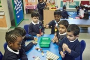 EYFS Children Learning and Having Fun