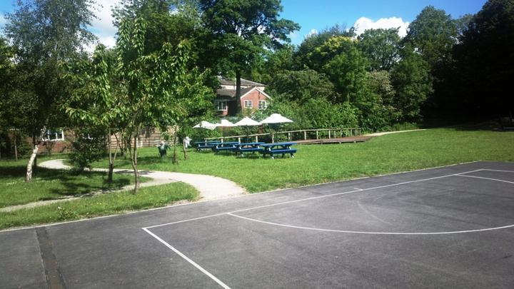 area-outside-school-building