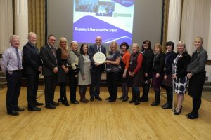 Derbyshire SSSEN Service Achieves Flagship Status